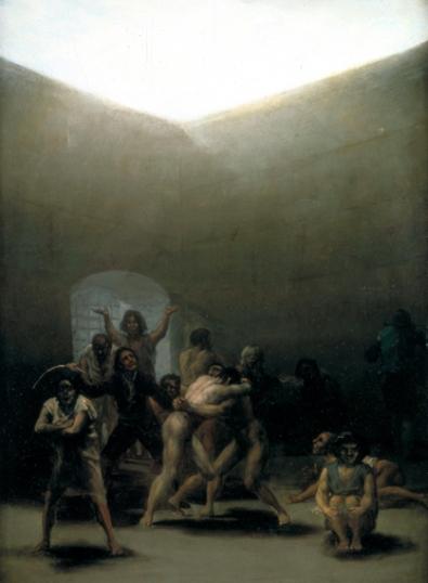 Courtyard with Lunatics 1794
