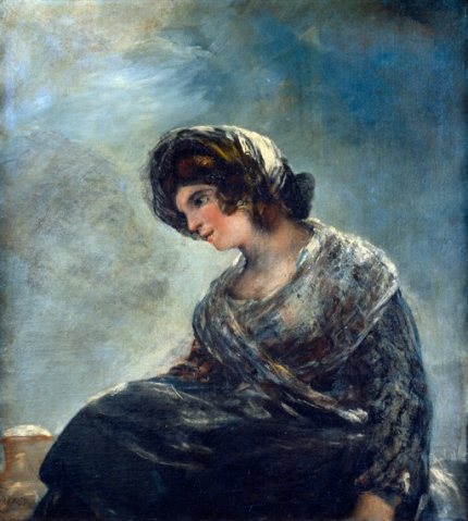 The milkmaid of Bordeaux 1827