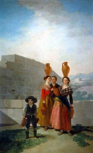 Women carrying Pitchers