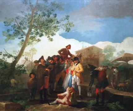The blind guitarist 1778