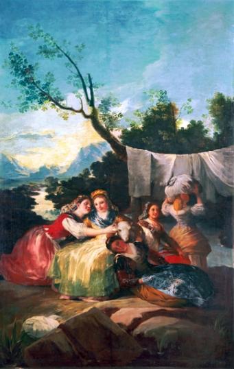 The washerwomen 1780