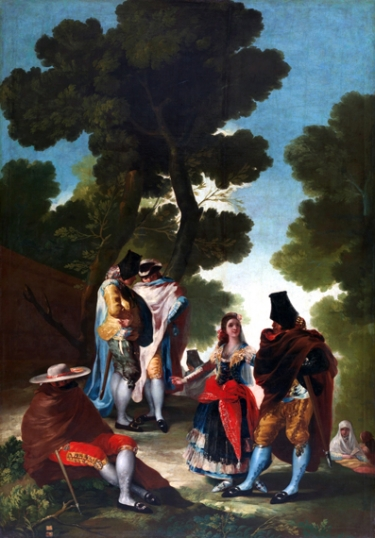 The walk of Andalusia 1777
