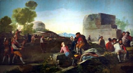 The Game of Pelota 1779