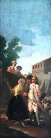 The military man and the lady 1779