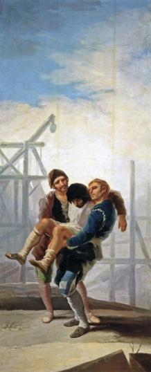 The injured mason 1786