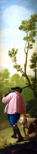 Hunter with his dogs 1775