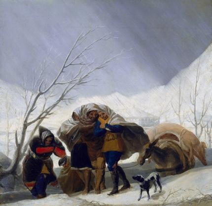 The Snowstorm (sketch) 1786