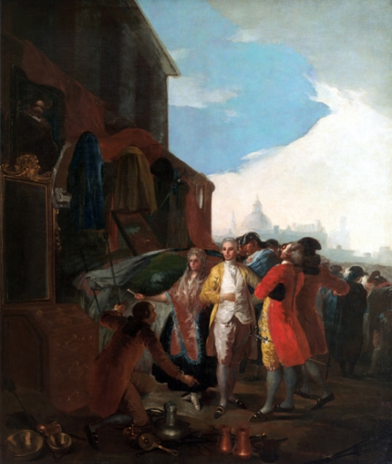The Madrid fair 1779