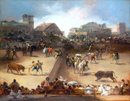 Bullfight in a Divided Ring 1816