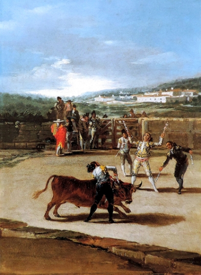 Banderillas in the field 1793