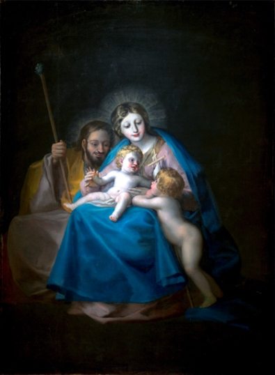 The Holy Family with Saint John the Baptist as a child