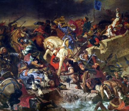 The Battle of Taillebourg