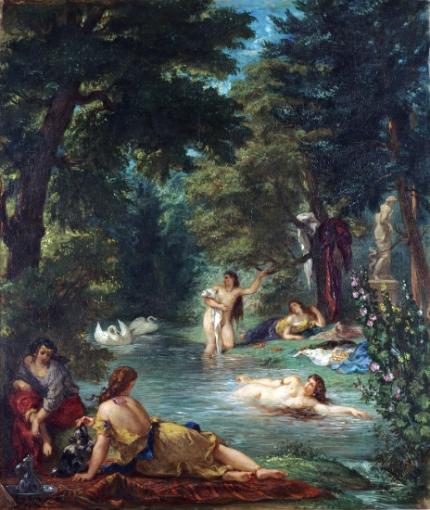 Bathers, 1854