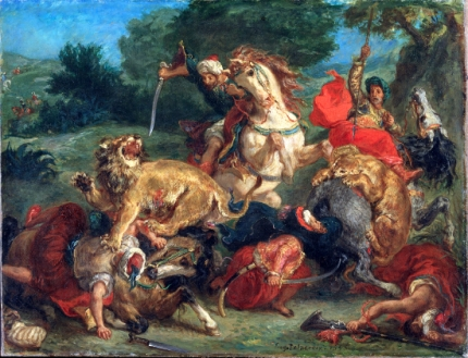 The Lion Hunt 1855