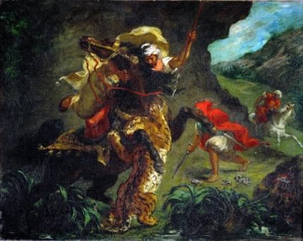 The Tiger Hunt 1854