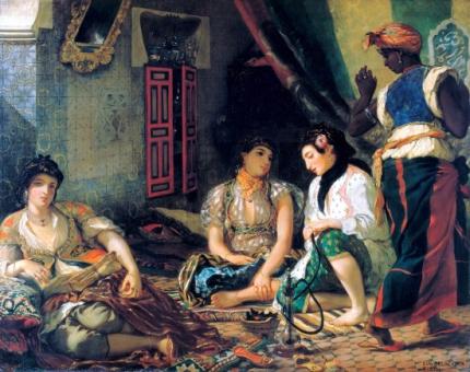 The Women of Algiers 1834