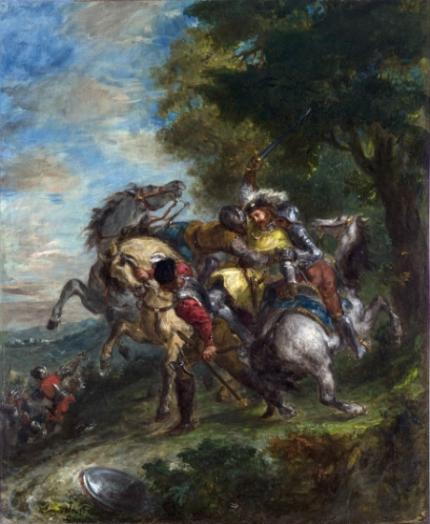 Weislingen Captured by Götz's Men 1853