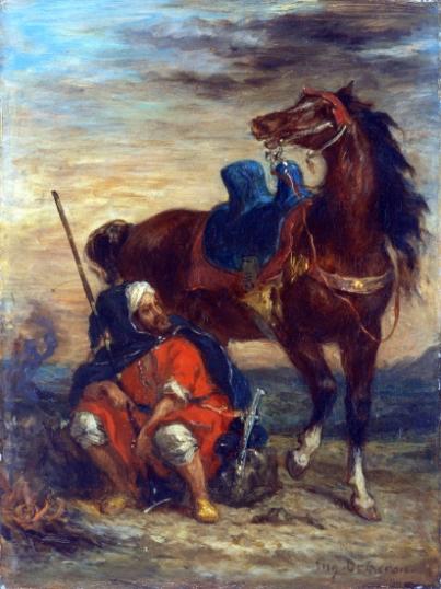 Arab Rider 1854