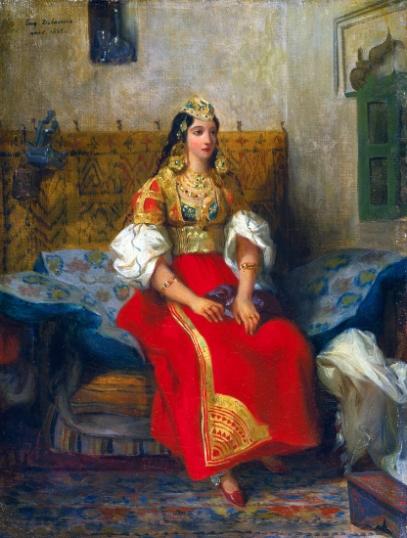 Juive De Tanger En Costume D'apparat