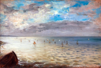 The Sea at Dieppe, 1852