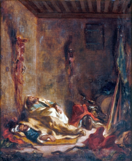 Le Corps De Garde à Meknès 1847