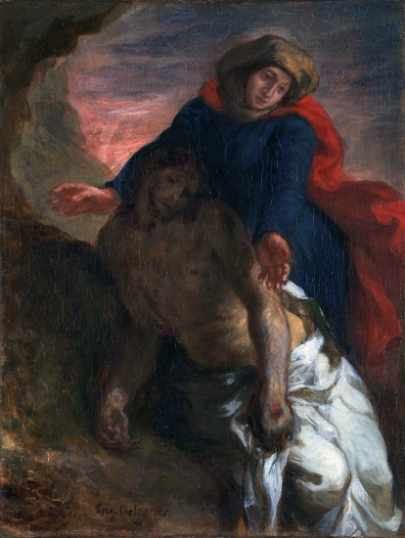 Pietà, 1850