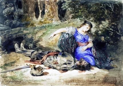 The Death of Lara 1824