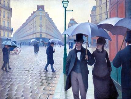 Paris Street; Rainy Day 1877
