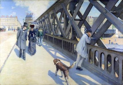 Le Pont De L'Europe (The Europe Bride), 1876