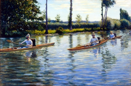Boating on the Yerres 1877