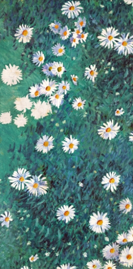 Bed of Daisies 1893-Panel 1