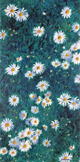 Bed of Daisies 1893-Panel 2