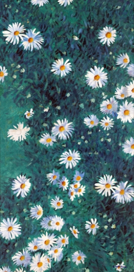 Bed of Daisies 1893-Panel 3