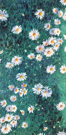 Bed of Daisies 1893-Panel 4