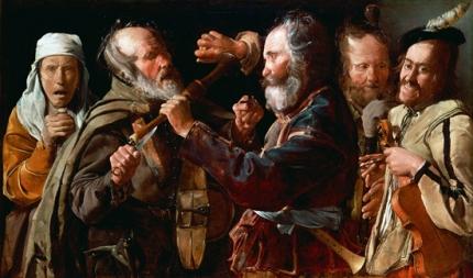 The Musicians' Brawl