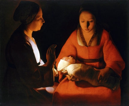 The Newborn Christ
