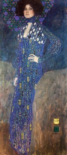 Portrait of Emilie Floge 1902
