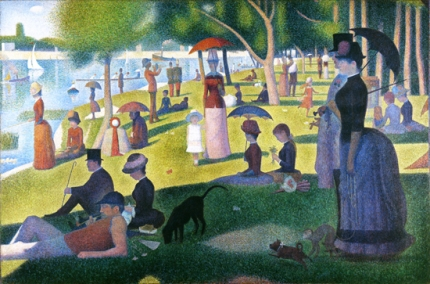 A Sunday On La Grande Jatte 1884