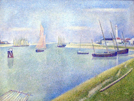 The Canal Of Gravelines, In The Direction Of The Sea