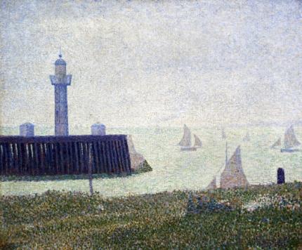 Harbour Entrance At Honfleur, 1886