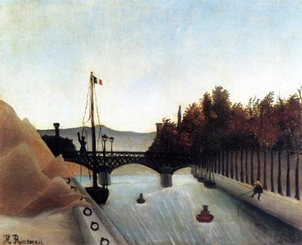 Footbridge at Passy