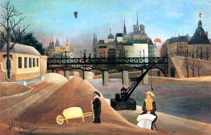 Ile Saint Louis and Notre Dame de Paris
