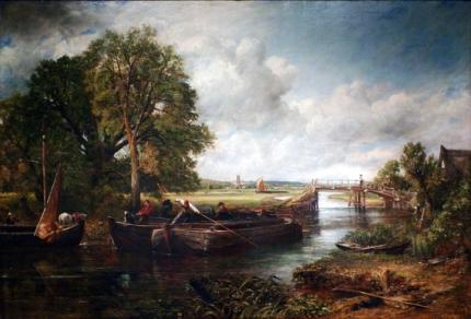 View on the Stour near Dedham 1822