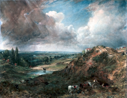Branch Hill Pond, Hampstead 1828
