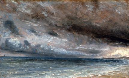 Stormy Sea, Brighton 1828