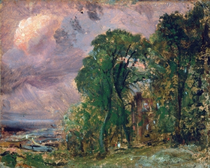 A View at Hampstead with Stormy Weather 1830