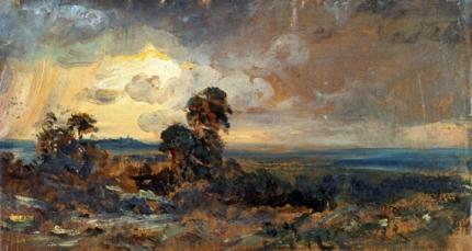 Hampstead - Stormy Sunset 1822