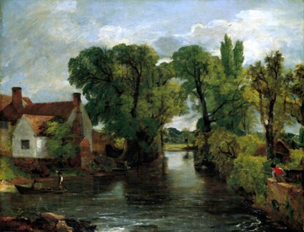 The Mill Stream, Flatford 1814