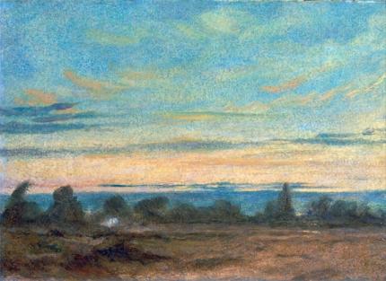 Summer - Evening Landscape 1825