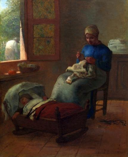 Baby's Slumber 1855
